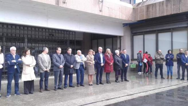 Minuto de silencio en Vigo por el atentado de Londres.