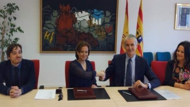 Acuerdo entre Cultura e Ibercaja