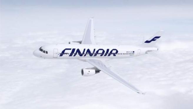 Avión de Finnair.