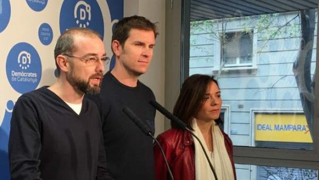 En la imagen el concejal en Barcelona, Gerard Ardanuy, Demòcrates.