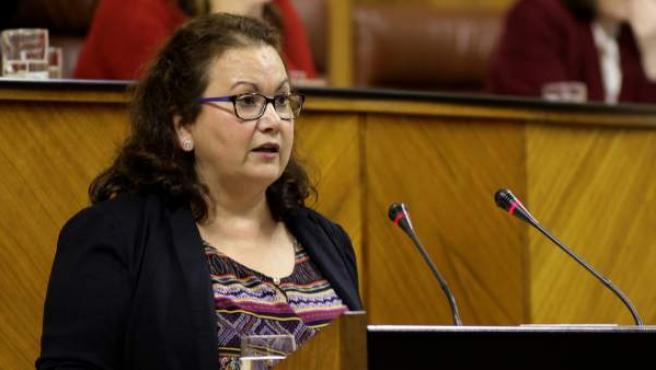 María del Carmen Prieto, diputada de por Málaga de Ciudadanos en el Parlamento andaluz.