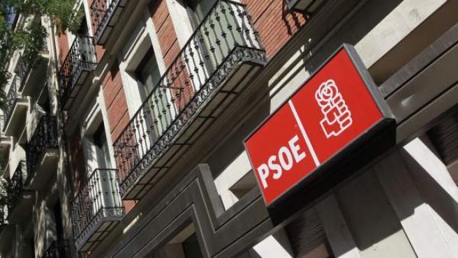 Sede del PSOE en la calle Ferraz de Madrid.