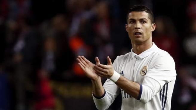 El portugués Cristiano Ronaldo, del Real Madrid.