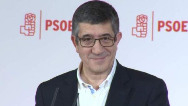 Patxi López quiere 'reconstruir' el PSOE