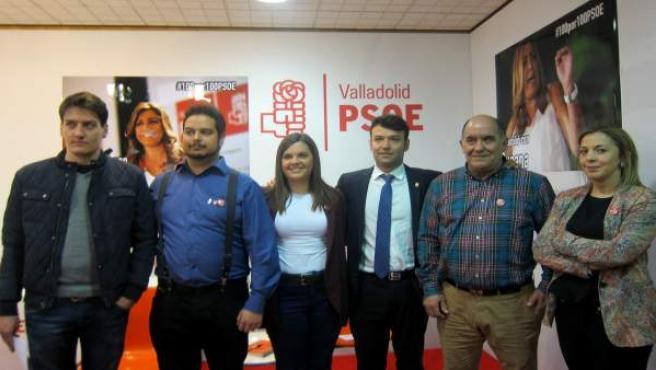 Integrantes del Grupo de Apoyo a Susana Díaz.