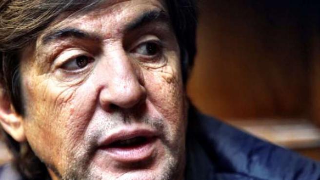 Manolo Tena durante una entrevista con '20minutos', en octubre de 2015.