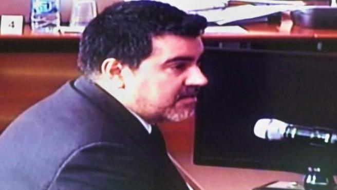 David Regalado, uno de los contables del Palau de la Música.