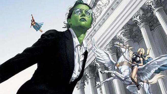 ¿Qué película de superhéroes podría escribir Aaron Sorkin?