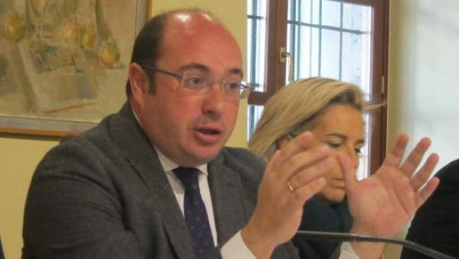 Pedro Antonio Sánchez, en una imagen de archivo.