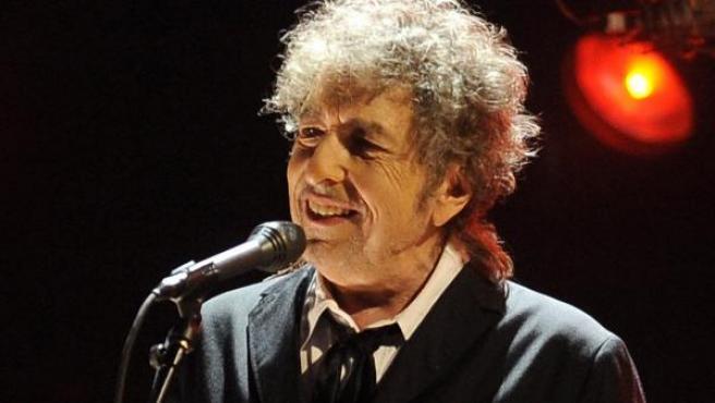 Bob Dylan, en un concierto en Los Ángeles en 2012.