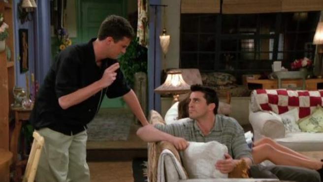 Escena de Friends que Matthew Perry (Chandler) considera más divertida.
