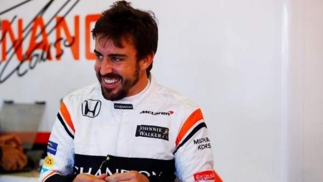 Fernando Alonso en el Gran Premio de Australia.