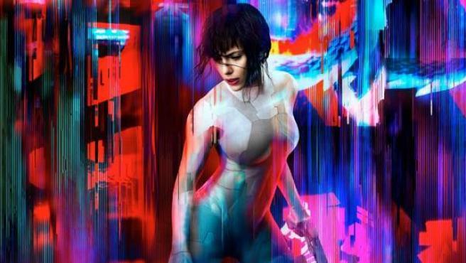 Scarlett Johnasson protagoniza la adaptación en imagen real de 'Ghost in the Shell'