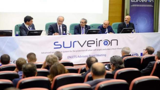 Conferencias sobre drones para seguridad.