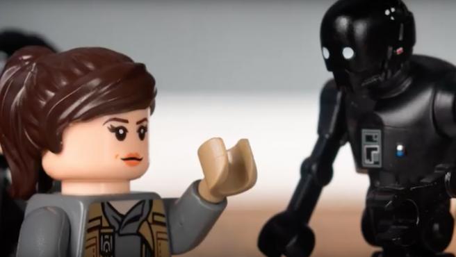 [Vídeo] Esta versión Lego de 'Rogue One' se detiene en el momento justo