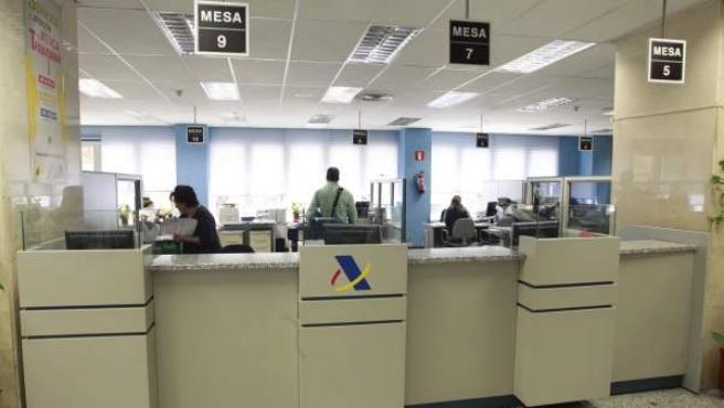 Oficinas de la Agencia Tributaria, en una imagen de archivo.
