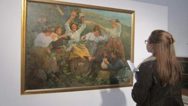 Valladolid. Inauguración de la exposición 'El arte de Baco'