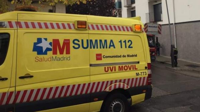 Una ambulancia del SUMMA.
