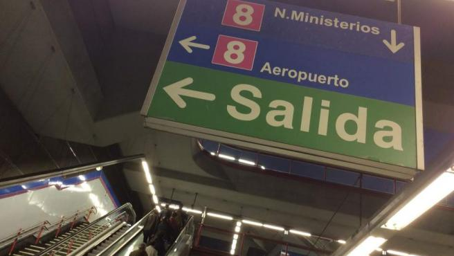 Metro de Madrid. Línea 8