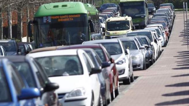 El tráfico es intenso desde primera hora de este jueves.