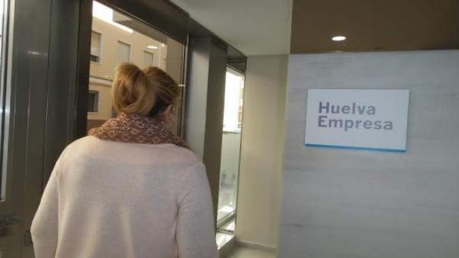 Oficina 'Huelva Empresa'.