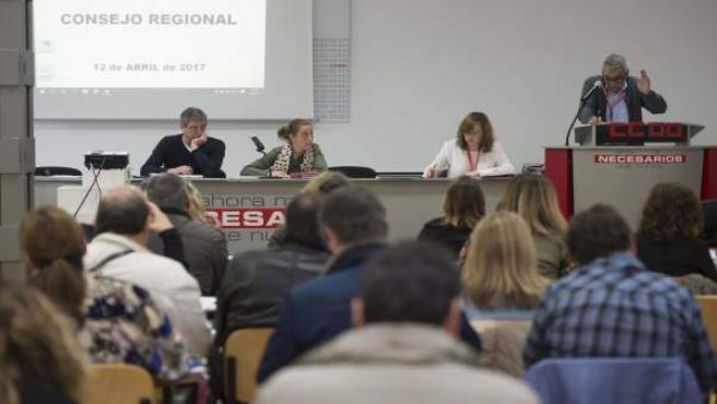 Consejo Regional de CCOO
