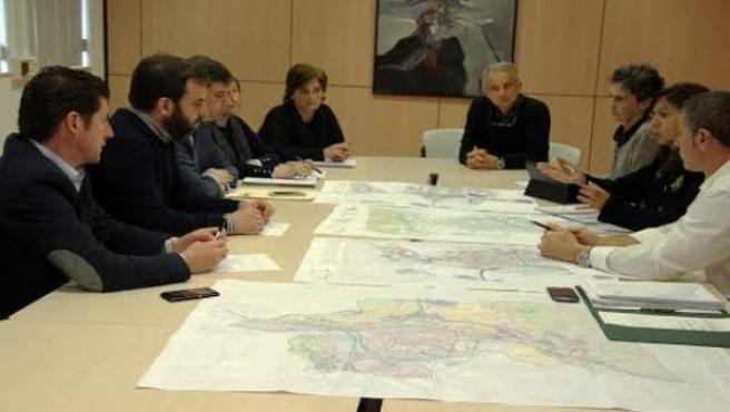 La comisión del PGOU de Torrelavega.