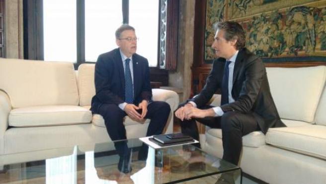 Ximo Puig es reunix amb De la Serna