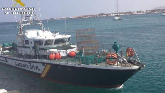 Barco de la Guardia Civil