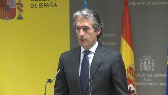 El ministre de Foment, Íñigo De la Serna.