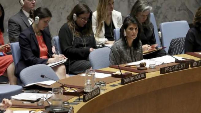 Reunión con el Consejo de Seguridad de la ONU.
