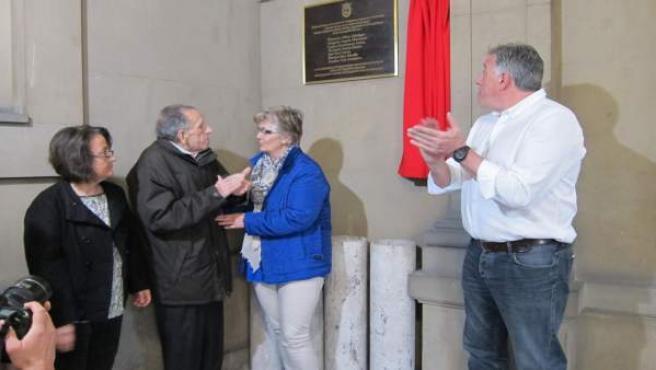Homenaje en el Ayuntamiento.