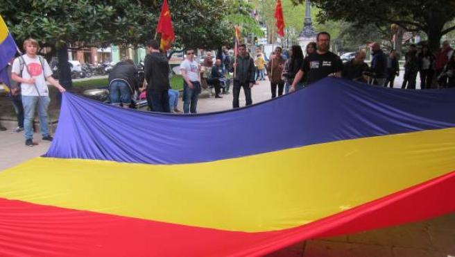 Manifestación por la República en Santander