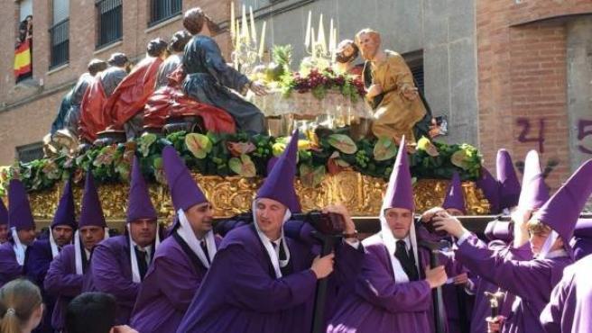 Semana Santa, procesión, Sazillo, Viernes Santo, Nuestro Padre Jesús, la cena