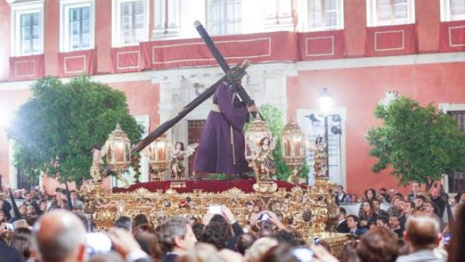 Procesión del Gran Poder en Sevilla.
