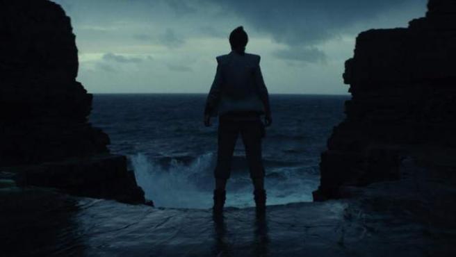 Imagen del tráiler de 'Star Wars: The Last Jedi'.