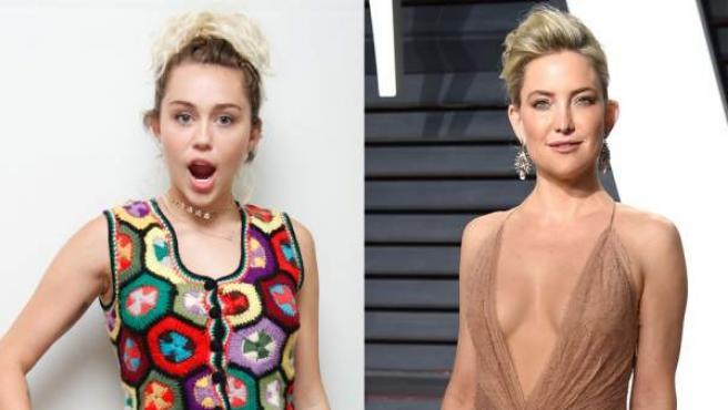 Miley Cyrus y Kate Hudson, nuevas víctimas del hackeo de fotografías privadas de famosas.