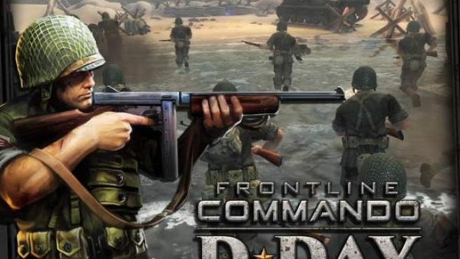 Imagen del juego FrontLine Commando D-Day.
