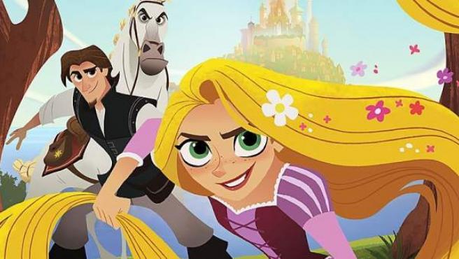Mandy Moore y Zachary Levi vuelven a poner las voces de Rapunzel y Eugene.