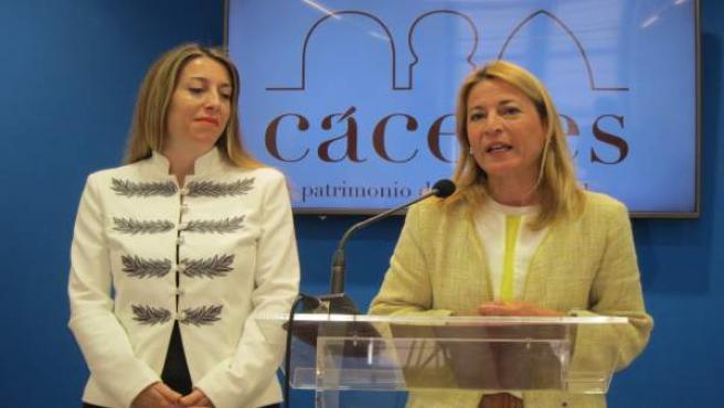 Presentación del plan de ayudas a autónomos en Cáceres