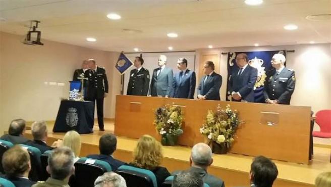 Zoido en la toma de posesión del comisario de Jerez