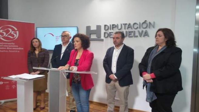 Presentación del Plan HEBE en la Diputación de Huelva.