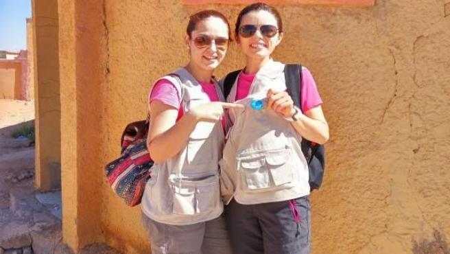 Rosario Merino y María de la Cruz Granados