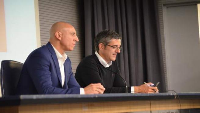 José Antonio Diez, y Eduardo Madina.