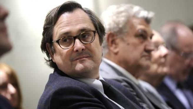 Una imagen del director del diario 'La Razón', Francisco Marhuenda.