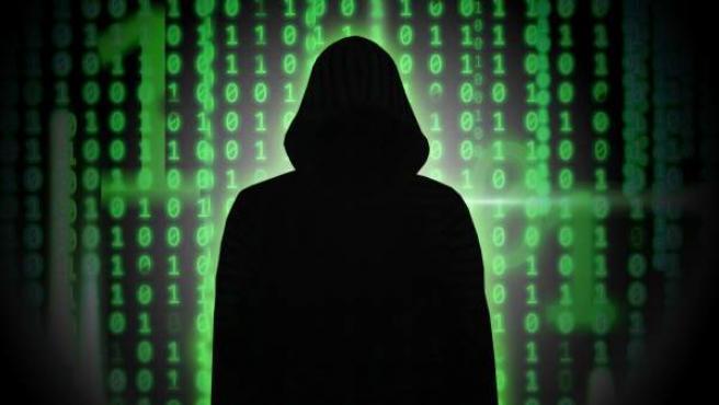 Ilustración que representa a un hacker.