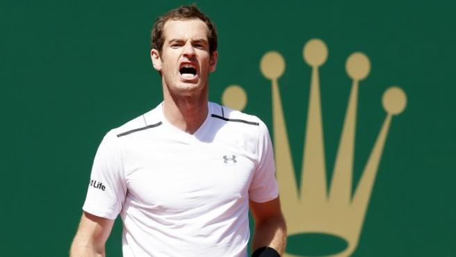 El tenista británico Andy Murray, en Montecarlo.