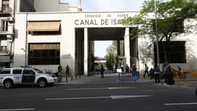 Operación de la Guardia Civil contra la corrupción en el Canal de Isabel II.