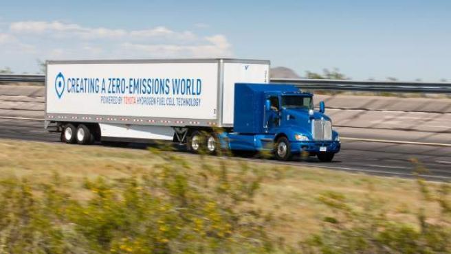 Las pruebas del camión sin emisiones de Toyota comenzarán en zonas portuarias de California.