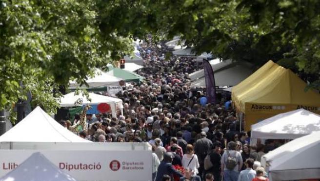 Diada de Sant Jordi 2017.